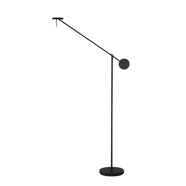 FLOOR LAMP INVISIBLE 48 X LED 9  MATT BLACK
