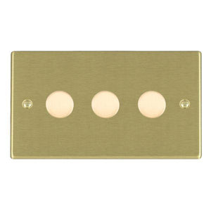Trailing Edge Push On/Off Dimmers 3 gang 250W/210VA Trailing Edge Multi-Way Dimmer