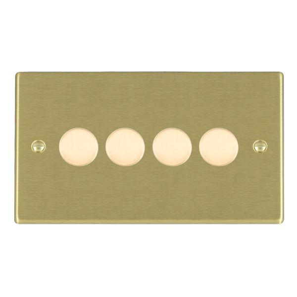 Trailing Edge Push On/Off Dimmers 4 gang 250W/210VA Trailing Edge Multi-Way Dimmer