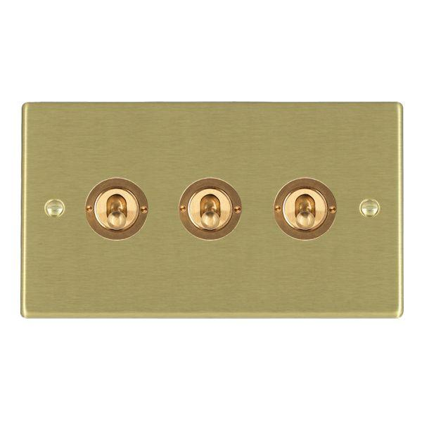 Toggle Switches 3 Gang 20AX 2 Way Toggle