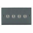 Toggle Switches 4 Gang 20AX 2 Way Toggle