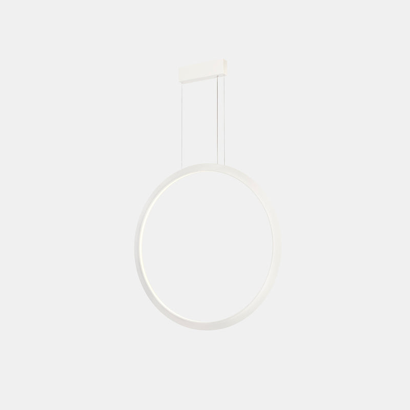 PENDANT CIRCULAR VERTICAL LED 45.6 1677 LED WARM-WHITE 3000K DALI BLACK