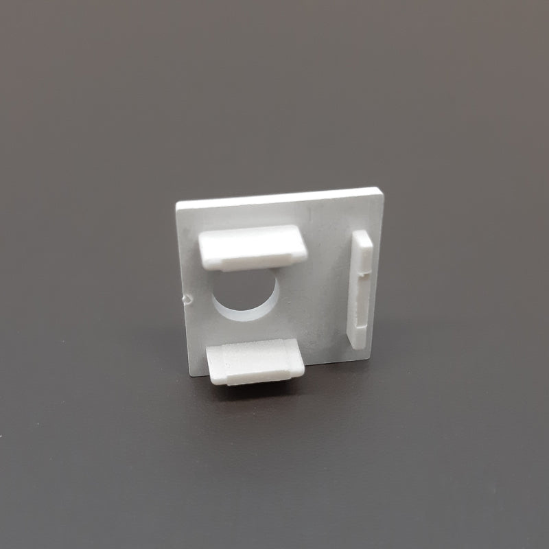 End Cap With Hole For Profile LUK-084