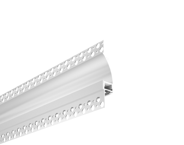 Trimless Plaster-In Recessed Aluminium In Direct LED Profile With Diffuser 3M