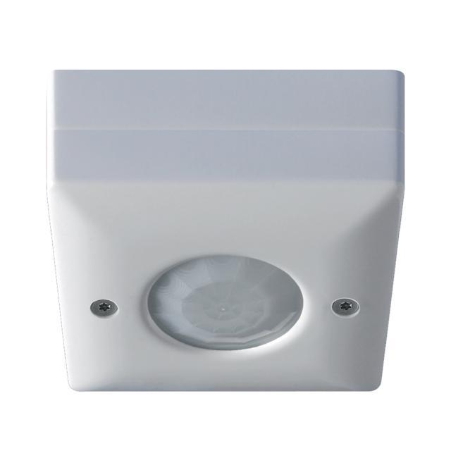 Danlers IP66 Ceiling Surface Mounted PIR Occupancy Switch rated enclosure. Presence detection.
