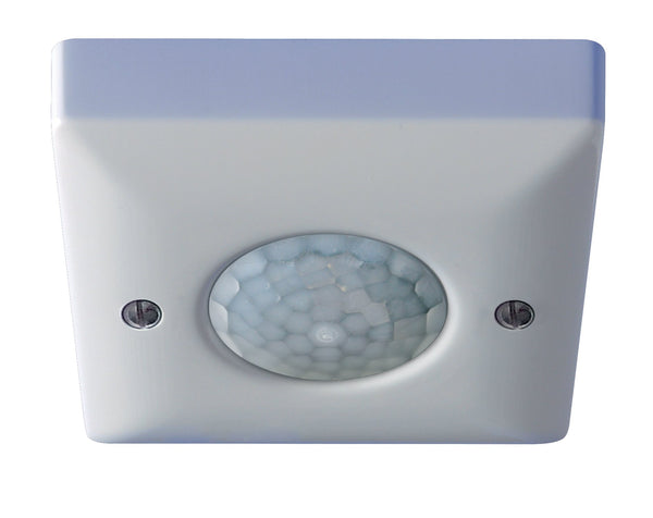 Danlers Ceiling Surface Mounted PIR Occupancy Switch Additional range version. Presence detection.