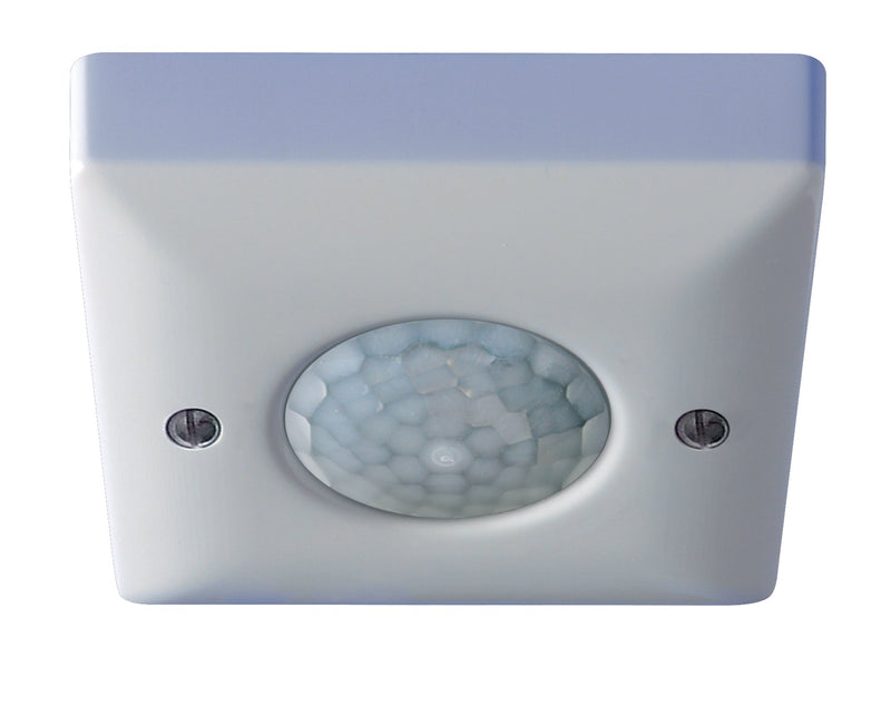 Ceiling Surface Mounted PIR Occupancy Switch Additional range version. Presence detection.