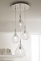 Lacrima Ceiling Lamp 4 Lights
