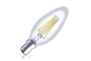 Candle Filament Omni Lamp Non-Dimmable Full Glass Bulb B15 4w