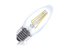Candle Filament Omni Lamp Dimmable Full Glass Bulb E27 4.5w