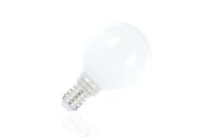Classic Mini Globe Frosted Lamp Non-Dimmable Full Glass Bulb E14 2.9w