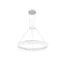 PENDANT CIRC 0 LED 22  MATT WHITE