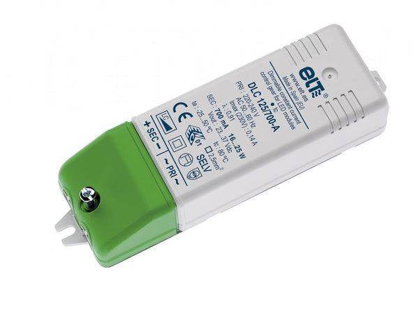 ELT DLC-A - Dimmable constant current LED driver 700mA - 25W