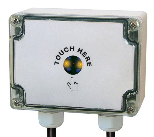 16A External Time Lag Switch Grey / White - Exterior Time Lag Switch IP66 rated