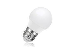 Mini Globe Frosted Lamp Dimmable Half Glass Bulb E27 6.3w