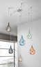 Lacrima Mini Hanging Lamp 3 Lights