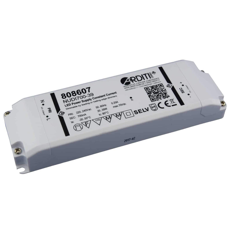 Arditi 37W, 350mA Dimmable LED Driver