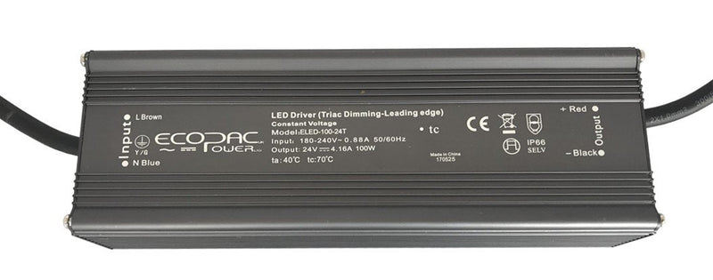 Ecopac Constant Voltage LED Driver ELED-100-24T 100W 24V
