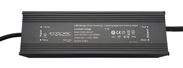 Ecopac Constant Voltage LED Driver ELED-300-24T 300W 24V