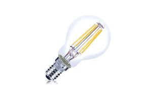 Mini Globe Filament Lamp Non-Dimmable Full Glass Bulb E14 4w