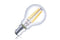 Mini Globe Filament Lamp Non-Dimmable Full Glass Bulb B15 4w