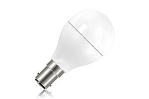 Mini Globe Frosted Lamp Non-Dimmable Half Glass B15 5.5w