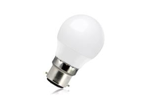 Mini Globe Frosted Lamp Dimmable Half Glass B22 6.3w