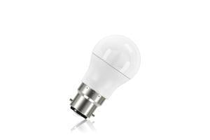 Mini Globe Frosted Lamp Non-Dimmable Half Glass Bulb B22 7.5w