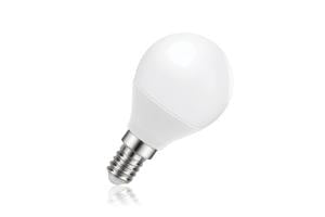 Mini Globe Frosted Lamp Dimmable Half Glass E14 5.5W