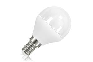 Mini Globe Frosted Lamp Non-Dimmable Half Glass E14 5.5W