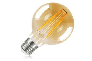 Sunset Vintage Filament Globe Non-Dimmable Full Glass Bulb E27 2.5w