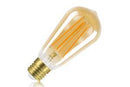 Sunset Vintage Filament ST64 Squirrel Cage Dimmable Full Glass Bulb E27 5w