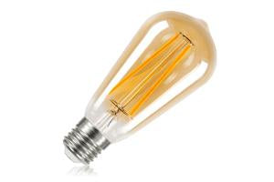 Sunset Vintage Filament ST64 Squirrel Cage Non-Dimmable Full Glass Bulb E27 2.5w