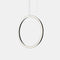 PENDANT CIRCULAR VERTICAL LED 63.5 2220 LED WARM-WHITE 2400K DALI BLACK