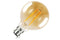 Sunset Vintage Filament Globe Non-Dimmable Full Glass Bulb B22 2.5w