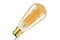 Sunset Vintage Filament ST64 Dimmable Full Glass Bulb B22 5w