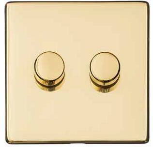 2 Gang Dimmer (400 watts)