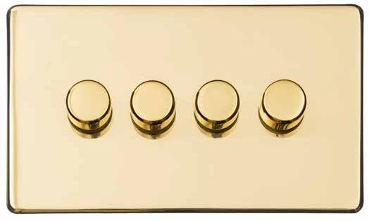 4 Gang Dimmer Switch (250 Watts)