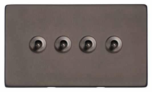 4 Gang Toggle Switch
