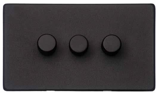 3 Gang Dimmer Switch (400 Watts)