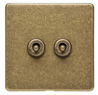 2 Gang Toggle Switches