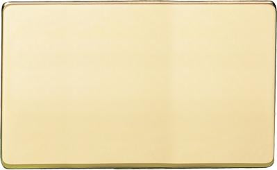 Double Section Blank Plate