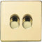 2 Gang Dimmer Switch - Low Voltage