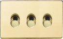 3 Gang Dimmer Switch - Low Voltage