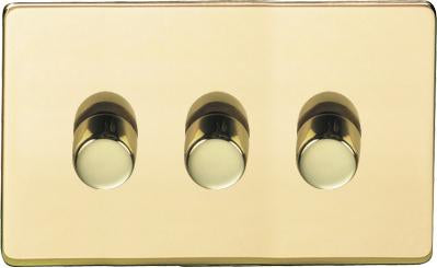 3 Gang Trailing Edge Dimmers