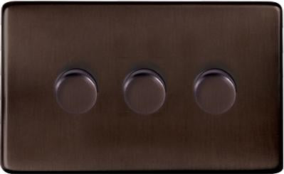 3 Gang Dimmer Switch