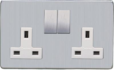 Double 13 AMP Socket