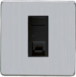 1 Gang RJ11 Telephone and Data Sockets