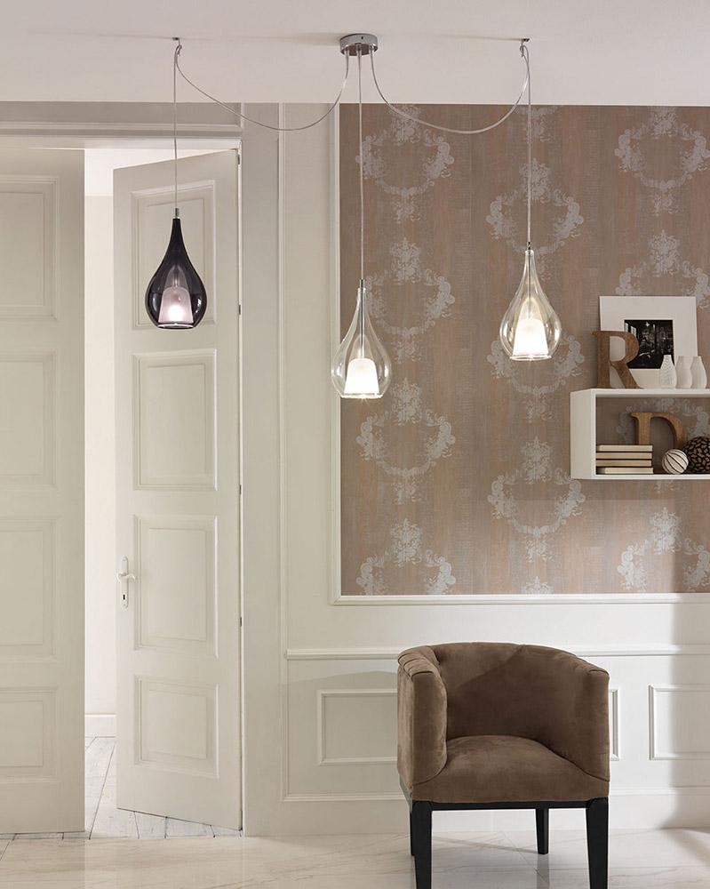 Zoe Hanging Lamp with 2 Lights 250cm