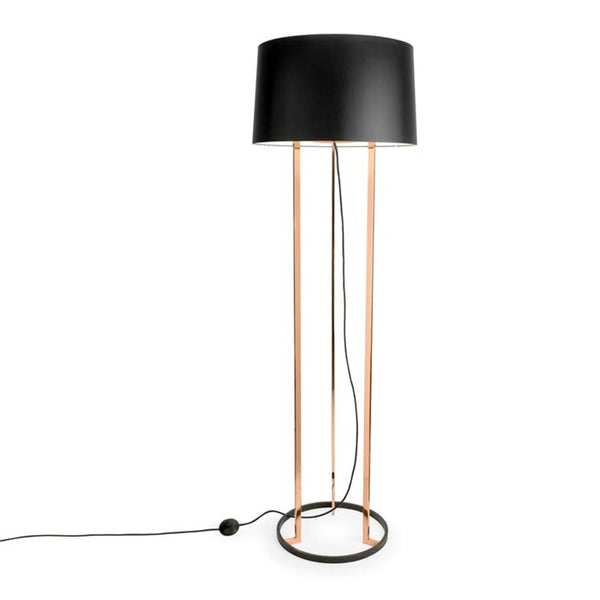 FLOOR LAMP PREMIUM 3 X E27 30  SHINY COPPER